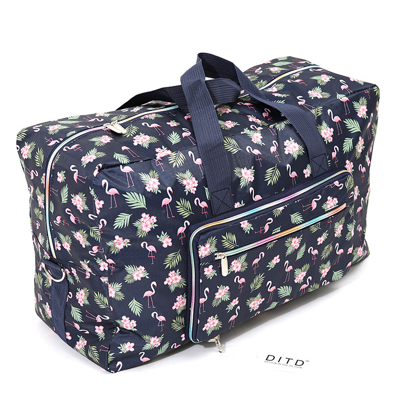 New Arrivals Casual Travel Bags Portable Folding Shoulder Bag Trolley Bag Sac A Main Colourful Large