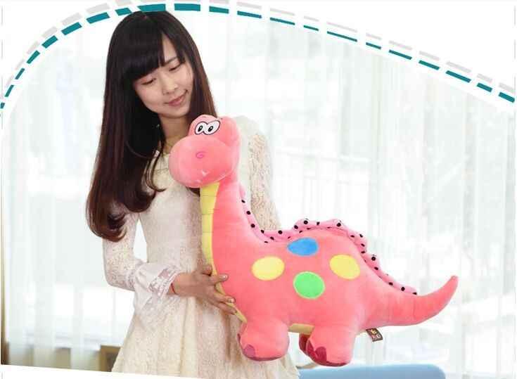 大きなラブリーぬいぐるみピンク恐竜おもちゃ漫画スポット恐竜人形ギフト約70センチ0309