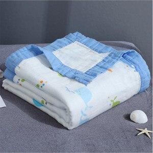 Image 5 - 29 Phong Cách 110*120Cm 4 Và 6 Lớp Sợi Tre Cho Bé Chăn Đầm Muslin Tre Cotton Trẻ Em bé Nhận Chăn
