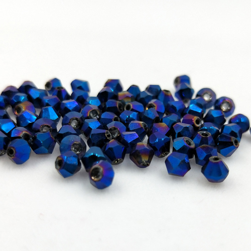Новинка 5301 4 мм 1000 шт стеклянные кристаллы бусины биконус граненый свободный разделитель бисер бусины Fantas AB DIY Изготовление ювелирных изделий U выбор цвета - Цвет: 220