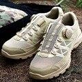 Лидер продаж; Мужская тактическая обувь для тренировок с быстрой реакцией; уличная спортивная водонепроницаемая нескользящая обувь для ке...