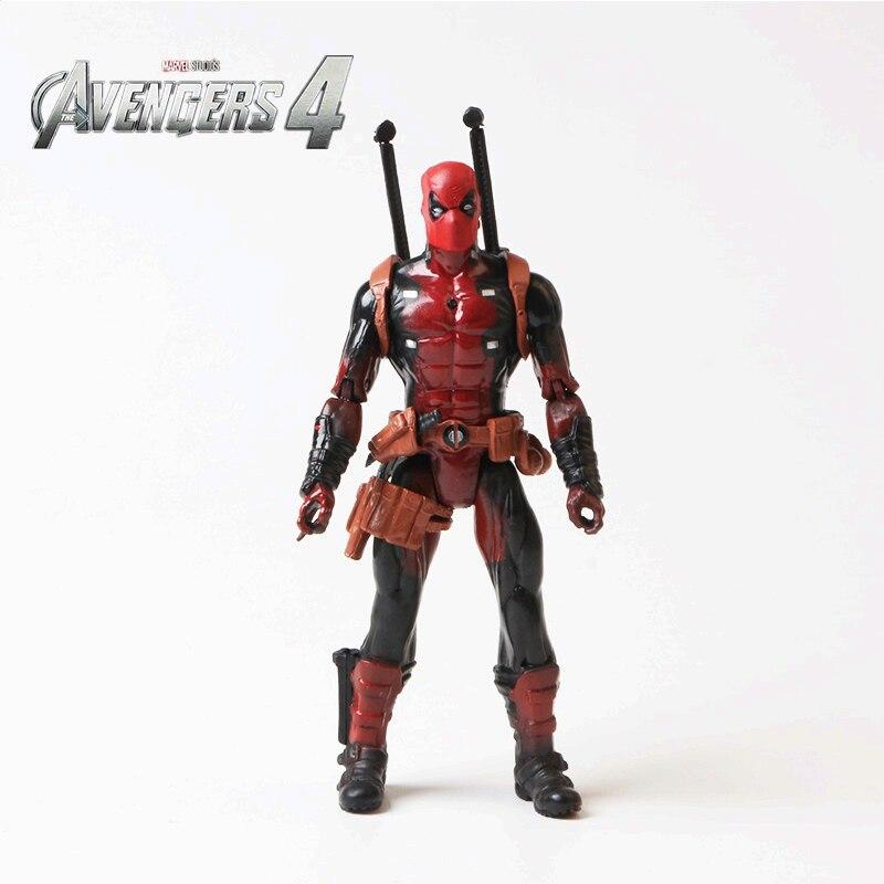 Les Avengers 4: Endgame Marvel 18 cm peut éclairer X-MAN DeadPool Super héros Figure modèle jouets