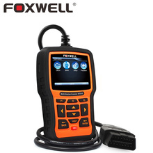 FOXWELL NT510 Full System Auto OBD Diagnostic Tool ABS SRS Airbag Crash Data EPB Oil Service Reset for VW BMW Toyota Hyundai VAG