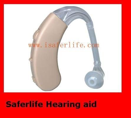 1 год гарантии аналоговый слуховой аппарат за ухом для продвижения высококачественной электроники