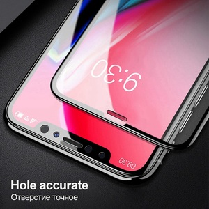 Image 3 - 6D Protective Glass for iPhone 11 Pro Max SE 2020 8 6 Screen Protector Cover 3D Tempered Glass for iPhone 8 X 6 6s 7 Plus XR XS