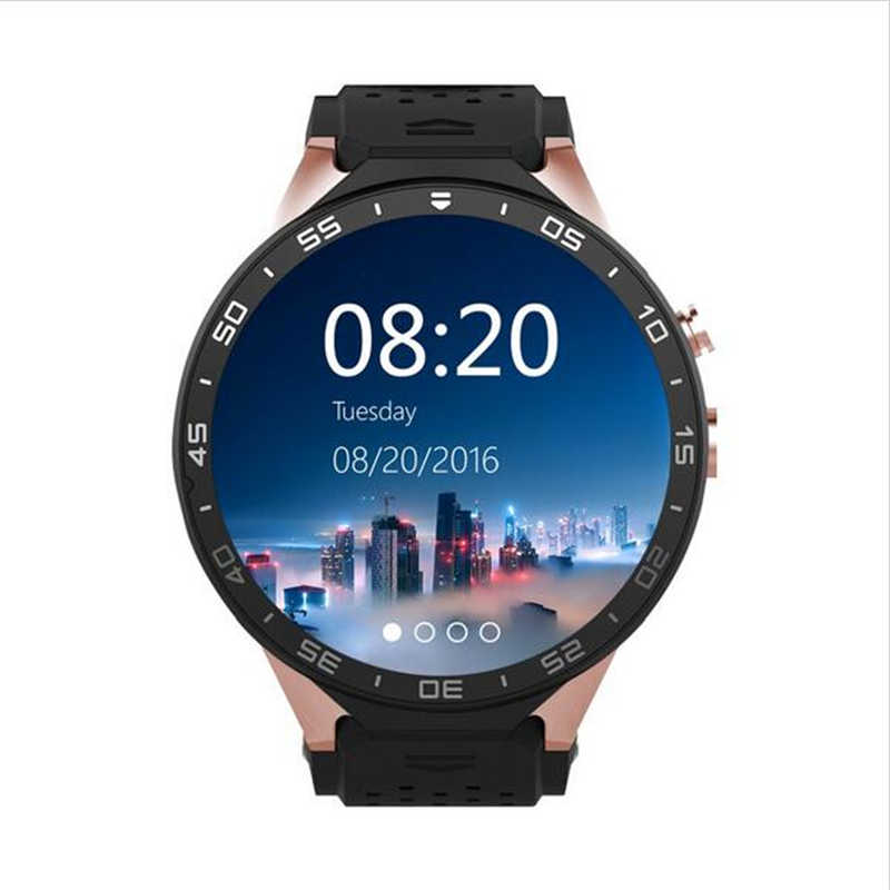 FreeGift+KW88 Android 5.1 Smart Watch Phone MTK6580 1.39 inch 400*400 Screen 2.0MP Camera Smartwatch for iphone HuaweiSonyXiaomi