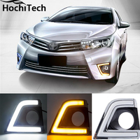 High Quality 3 Colors Ice Blue Car DRL Daytime Running Lights Fog Light For Toyota Corolla