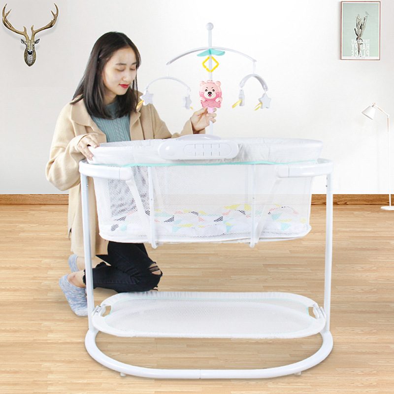 Electric  Baby  cradle toddler bed   bassinet