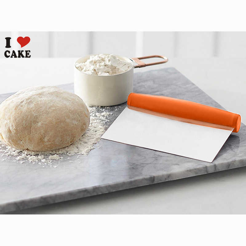 Stainless Steel Dough Cutter Bench Scraper Kitchen Tools