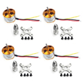 F02015-4 4Pcs A2212 1000KV Brushless Outrunner Motor 13T for DIY RC Aircraft Multirotor Quadcopter Drone FPV FS