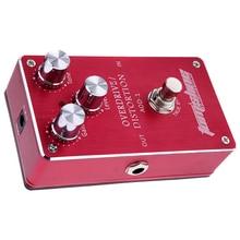 Aroma AOD-1 Electric Guitar Bass Overdrive Distortion Effect Pedal True Bypass