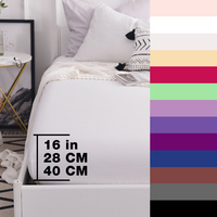 Custom 600TC Cotton Luxury Solid Fitted Sheet Bedsheet Bed Sheet With Elastic Band Linens Bedding Sheets Mattress Cover 160x200