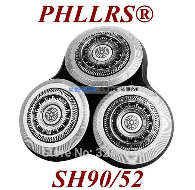 Сменная головка для бритвы Philips RQ10, RQ12, RQ11, SH90/52, S9000, S9911, S9731, S9711, S9511, S9522, S9111, S9031, SH90, 1 шт.