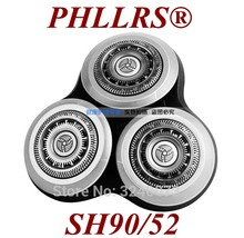 Lâmina de barbear xiaomi rq12 rq11, 1 peça de cabeça para barbeador philips sh90/52 s9000 s9911 s9731 s9511 s9522 s9111 s9031 sh90
