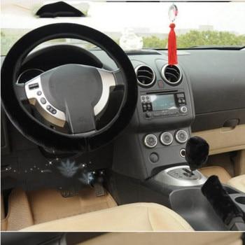 Capa de pelúcia para volante de carro, 1 peça de alta qualidade, macia, quente, para inverno, universal 35-40cm in diâmetro do diâmetro