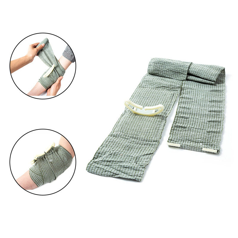 Outdoor First Aid Hemostasis Military Tourniquet Compression Bandage Sterilization One-handed Operation Sterile Survival