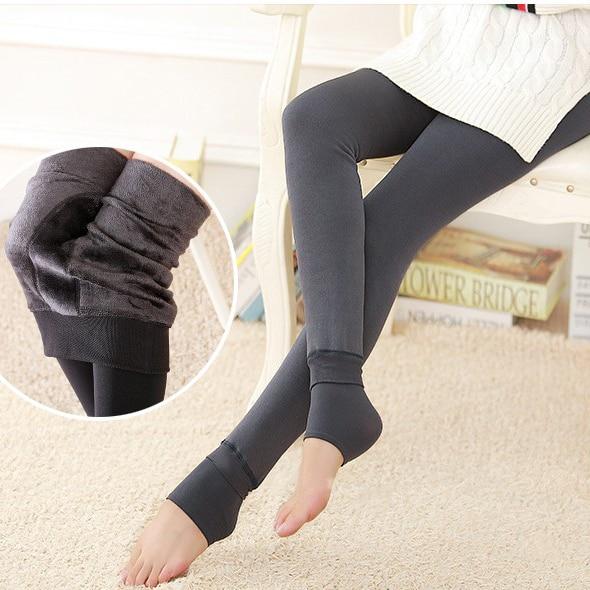 90370f371 Fcare Extra grande grande inverno alta cintura grossa 295 g par mais o  dobro do tamanho XXXL virilha strumpfhosen inverno quente meias calças  justas em ...