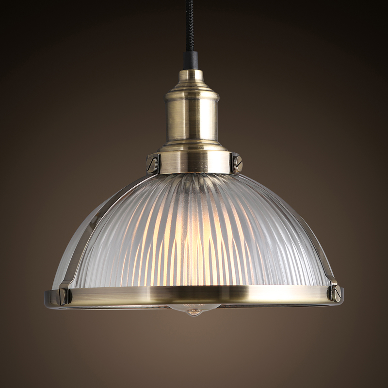 ФОТО American retro industrial wind glass lampshade bulb Cafe Restaurant Bar Cafe Bar creative Chandelier