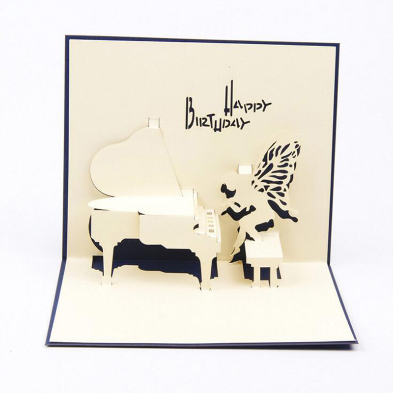 online get cheap piano birthday card aliexpress  alibaba group, Birthday card
