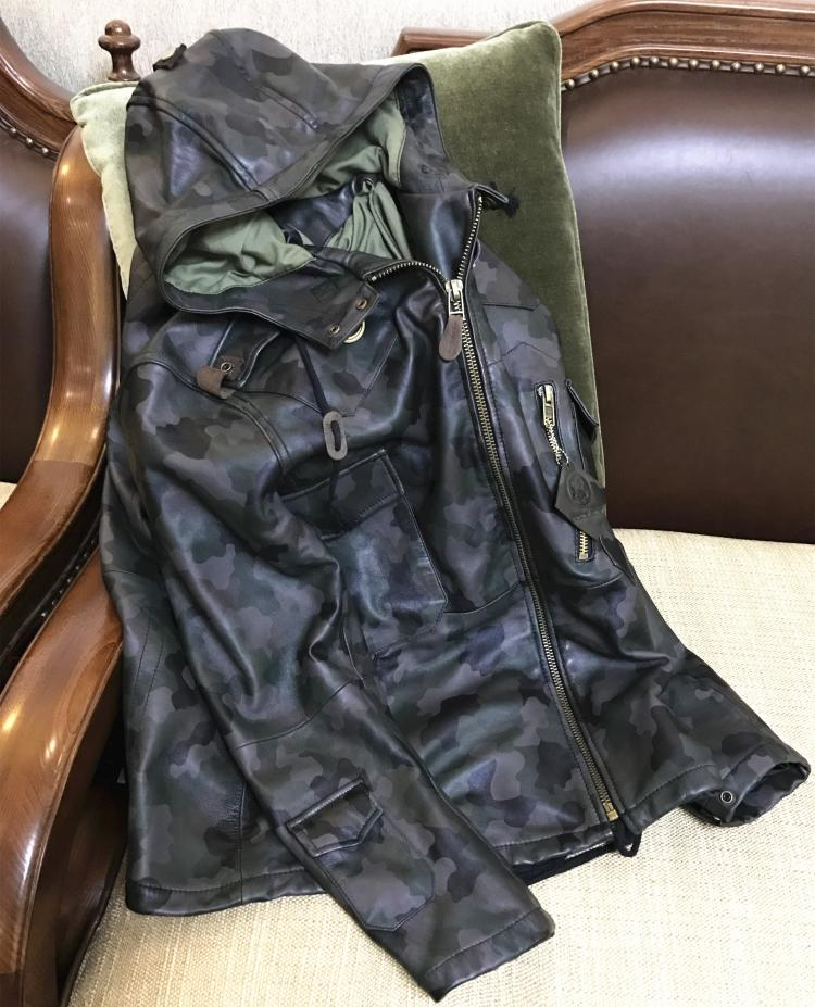 Free shipping.fashion classic inter warm Sheepskin jackets,mens slim long genuine sheep leather jacket,casual clothing.Brand