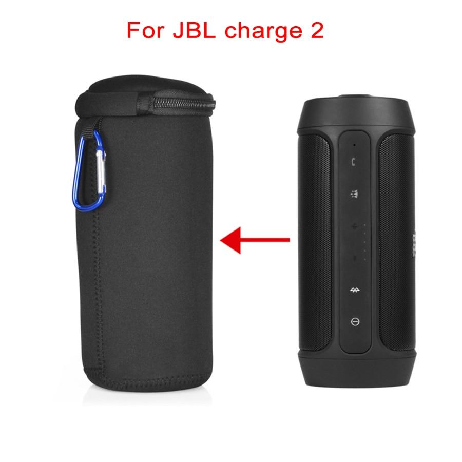 Neue Weiche Lautsprecher Tragetasche für JBL Charge2 Ladung 2 Drahtlose Bluetooth Außenlautsprecher Abdeckung Dünner Tragbaren Schutztasche