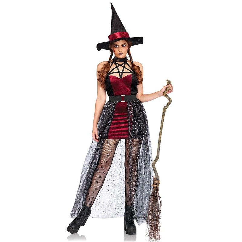 Halloween Horror streghe e maghi cappuccio Hood Adulto Costume Accessorio