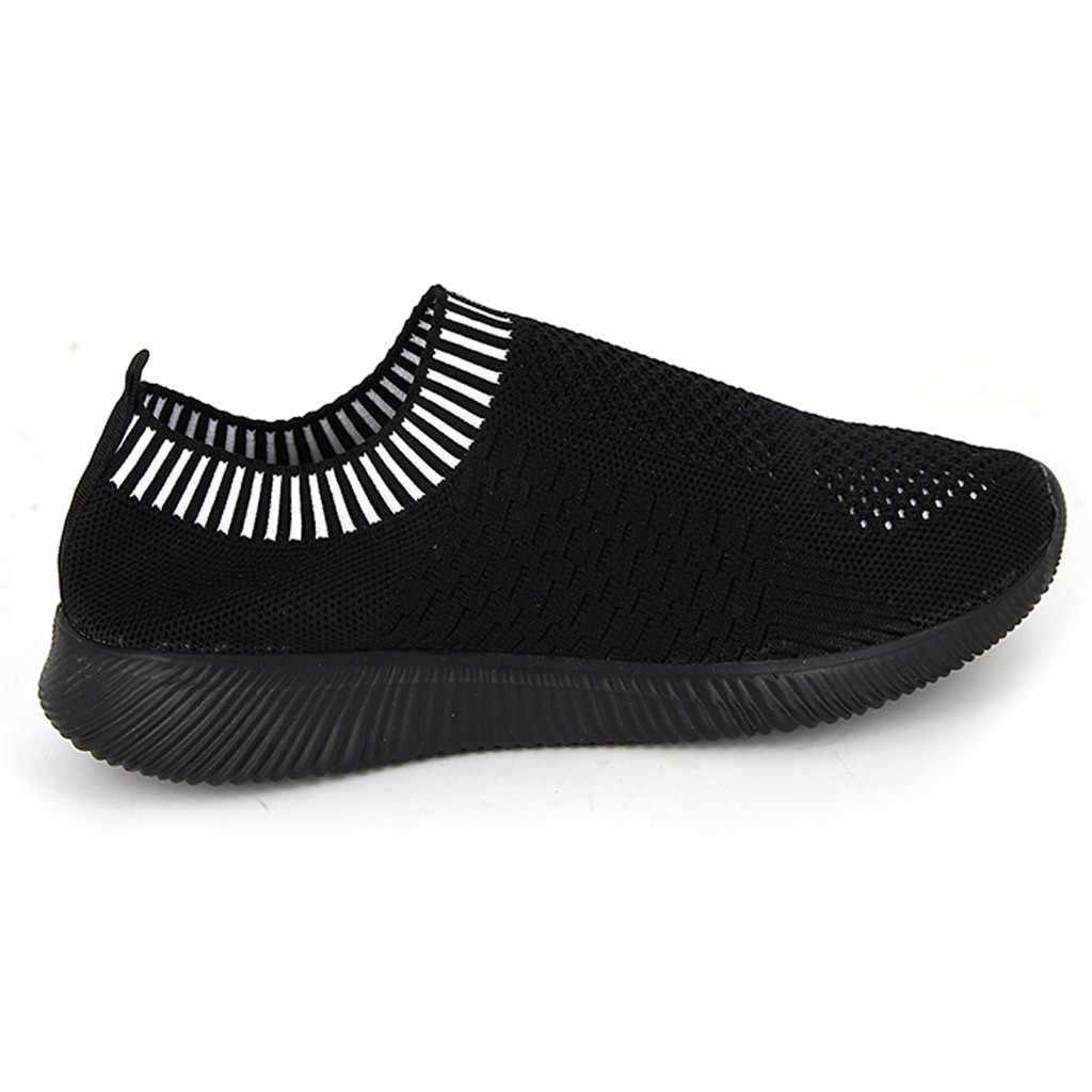 Zwart Nieuwe Populaire Stijl Mannen Loopschoenen Gestreepte Sportschoenen Outdoor Walkng jogging Sneakers Mesh Sport Snelle Gratis Verzending