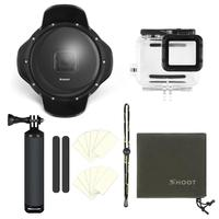 6 inch Dome for Gopro Hero 7 6 5 Black Action Camera With Waterproof Case Go Pro 7 6 5 Lens Dome Port for Go Pro Accessory