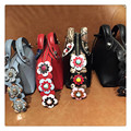 Women Messenger Bags Handbags Famous Brands 3D Flower Rivet Boston Serpentine Mini Pillow Totes High Quality Shoulder Crossbody
