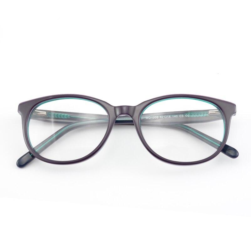 Nizza Marke Design Hohe Qualität Frau Acetat Brillen Brillen Rahmen ...