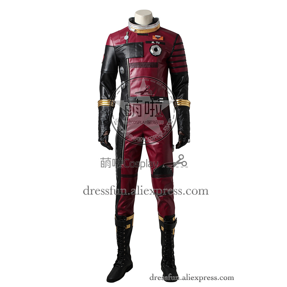 Prey Cosplay Costume Morgan Outfits Uniform Full Set Halloween Dress Jumpsuit Fashion Clothing Comfortable Fast Shipping
