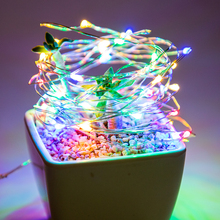 1M 2M 5M 10M Copper Wire LED String Lights 100 LED Lights Indoor Outdoor Holiday Lighting Home Garden Christmas Decoration