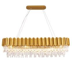 Luksusowy kryształ żyrandol kreatywny złoty Cristal nabłyszczania oprawa oświetleniowa żyrandol kryształ dla projektu hotelowego MD85599 w Żyrandole od Lampy i oświetlenie na