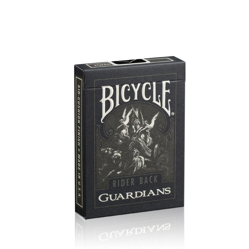 Bicycle Guardians Playing Cards By Theory11 Black Poker Magic Cardistry Deck Guardian Magic Tricks Magic Props Poker
