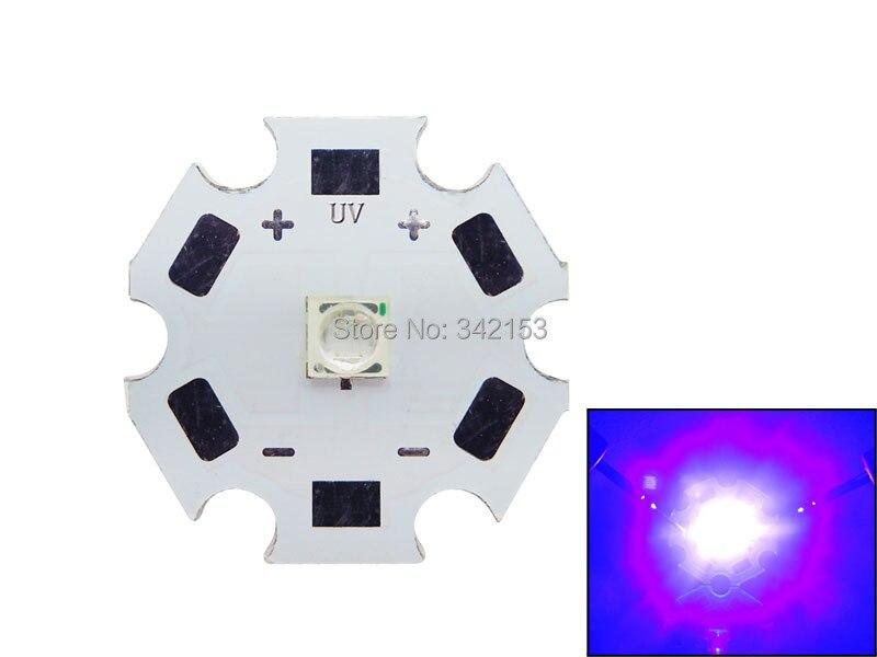 Licht & Beleuchtung Freies Verschiffen 10 Teile/los 3 Watt Uv 420nm 20 Mm 3-3,6 V High Power Led-strahler Für Geld Detektor/konsolidierung