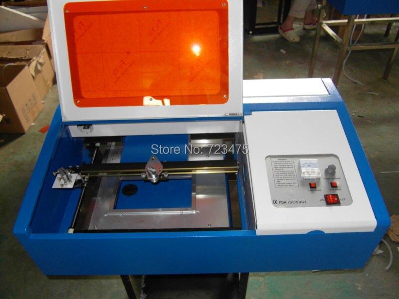 CO2 Laser Engraving Machine Cutting Printer 220V 40W Laser ...