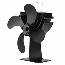 Heat Powered Heat Furnace Stove Top Fan Stove Heating Fan for Wood Log Burner Fireplace Eco Friendly 16% Fuel Saving