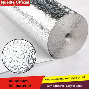 Tile Stove Tin-Foil-Paper Cabinet Kitchen-Stickers Moisture-Proof Self-Adhesive Thickening