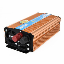NEW 1200W MAX DC 12 V to AC 220 V Car Power Inverter with USB Charging Port Adopting Aluminum Alloy Case, Antioxidant