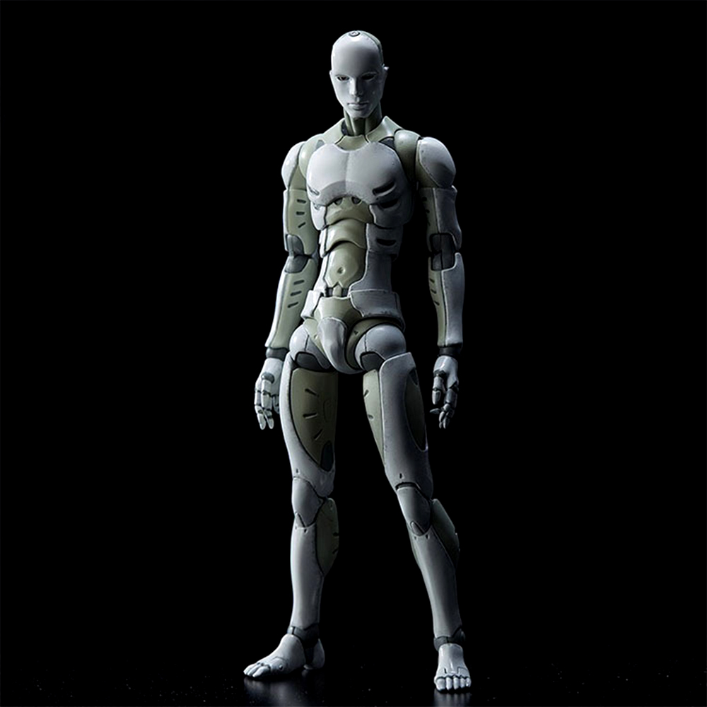 16cm Archetype PVC Action Figure Human Body Joints Male Female Nude Movable Dolls Anime Models for Figma Collections Figures archetype transparent ver she
