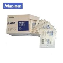 50 шт./кор. 6*7 см медицинский, стерильный клей из нетканого материала для заживления ран повязки с амортизацией для хирургический гипс