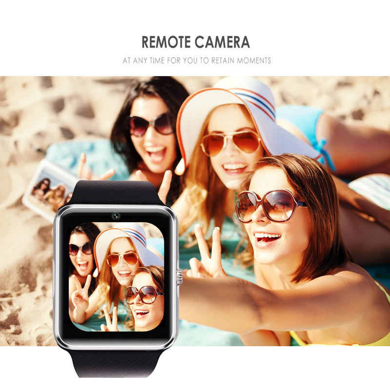 Image 3 - 2019 Bluetooth Smart Watch Support 2G SIM TF Card Camera Smartwatch PK X6 Z60-in Smart Watches from Consumer Electronics