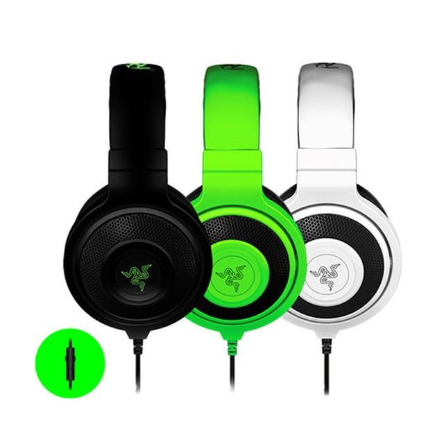 Original razer kraken pro gaming headset auriculares de juegos de ordenador auriculares con aislamiento de ruido auriculares con micrófono para lol cf