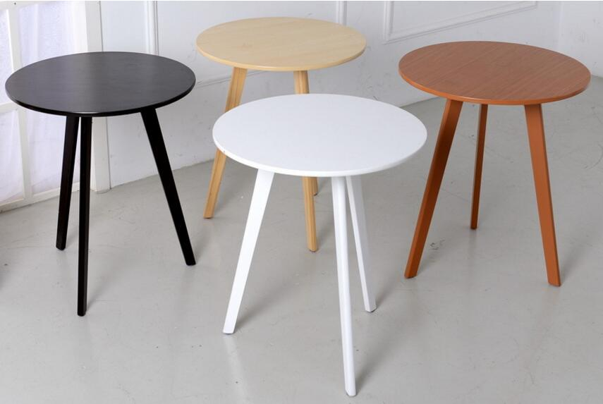 48*60CM Eco-friendly Bamboo Creative Side tables Coffee Table Living room Round tea table цена