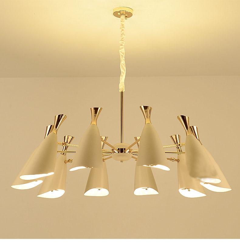 LED or lampes suspendues mode maison éclairage intérieur Vintage salle à manger pendentif lumières suspendu luminaire lampe LED suspendue