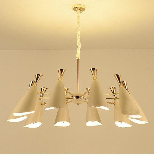LED or pendentif lampes maison de mode éclairage intérieur Vintage