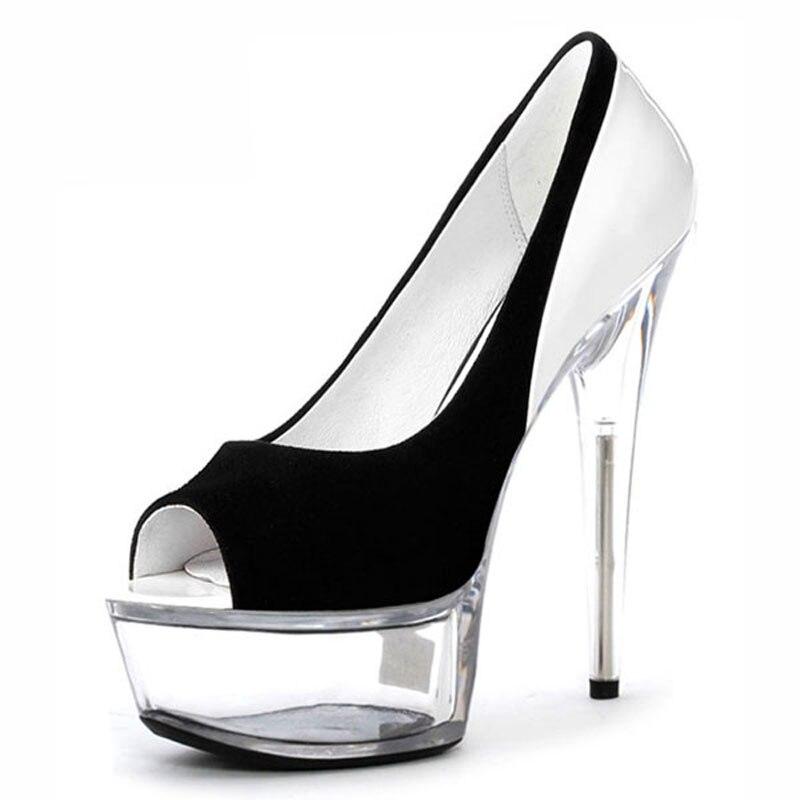 Nouvelle Mode d208 E Ultra 15 C Laijianjinxia Peep Chaussures Haute Profonde De Cm Peu A B forme D d208 Partie Pompes Toe Talons Mariage d208 d208 Sexy Plate D208 F d208 Des Femmes d5CqwxAq0