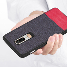 For Oneplus 7 Pro Case Ultra-thin Fabric Texture Soft Silicone Back Cover For Oneplus 7 Pro oneplus 6