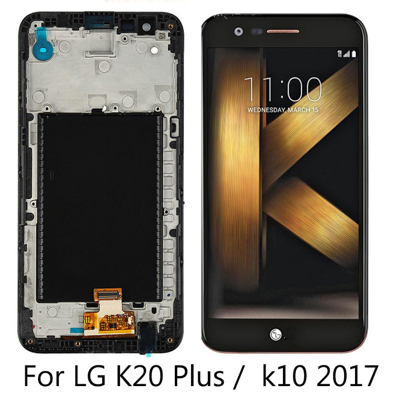 Original Display for <font><b>LG</b></font> K10 2017 LCD with Touch <font><b>Screen</b></font> Digitizer K10 2017 Display M250 M250N M250E M250DS <font><b>Replacement</b></font> LCD image