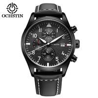 Brand OCHSTIN 2016 New Men S Wrist Watches Quartz Watch Men Real Three Dial Luminous Waterproof